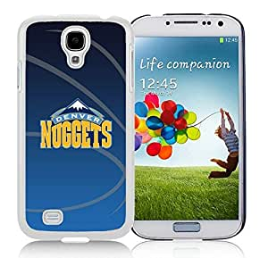 New Custom Design Cover Case For Samsung Galaxy S4 I9500 i337 M919 i545 r970 l720 Denver Nuggets 11 White Phone Case