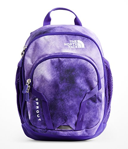 The North Face Youth Sprout - Dahlia Purple Colored Print & Deepblue - OS (Face Purple)