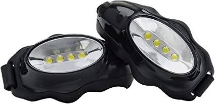 OWN The Night Knuckle Lights Original The Most Convenient Running Light/—Simply Grab and Go See and Be Seen On Your Next Run Or Walk in The Dark Super Bright Flood Beams Light Your Entire Path