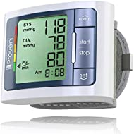 Blood Pressure Monitor Wrist - BP Wrist Cuff Full Automatic - Clinically Accurate & Fast Reading - FDA Approved - BPM-337 by iProvèn - Large Display (Grey)