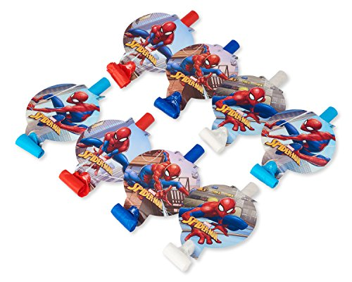 (Spider-Man 8-Count Party Blowers)