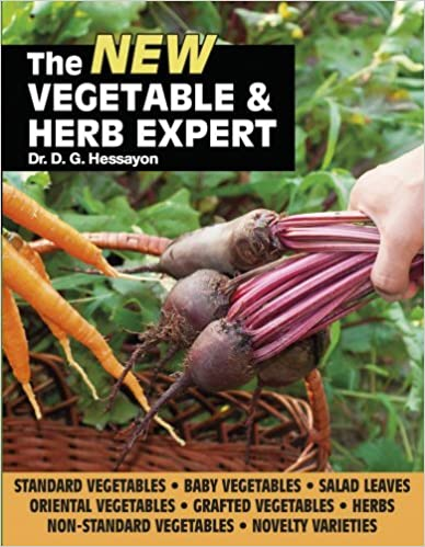 The New Vegetable & Herb Expert by Dr D G Hessayon (2014-03-13)