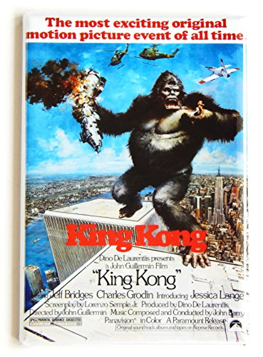 King Kong (1976) Movie Poster Fridge Magnet -