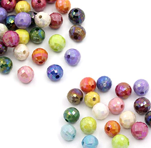 Rockin Beads 280 Acrylic Spacer Beads Ro - Faceted Round Acrylic Beads Shopping Results