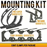 END OF ROAD 8 piece Quick Fist Clamp Mounting Kit