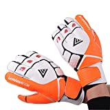 Lenwave Adult Youth Goalkeeper Gloves Soccer Goalie Glove Finger Save Protection Spines