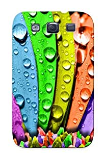 New Arrival Colorful Petals For Galaxy S3 Case Cover Pattern For Gifts