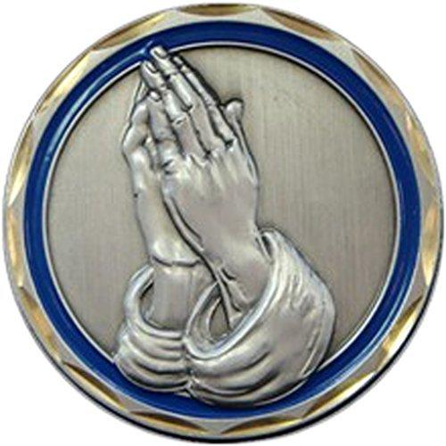 Praying Hands Religious Coin Spiritual Gift Men Women