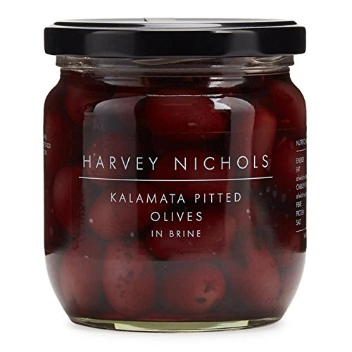 Harvey Nichols Kalamata Pitted Olives in Brine - 410g (0.9lbs) ()