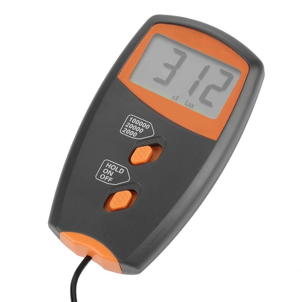 Digital Illumination Tester,LX1010BS Digital Luxmeter LCD Display Light Meter Environmental Testing Illuminometer