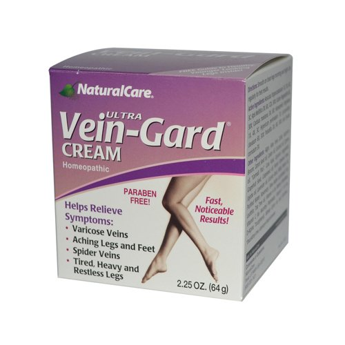 Vein Gard Legs Therapy Cream (Natural Care - Natural Care Vein-Gard Cream - 2.25 oz)