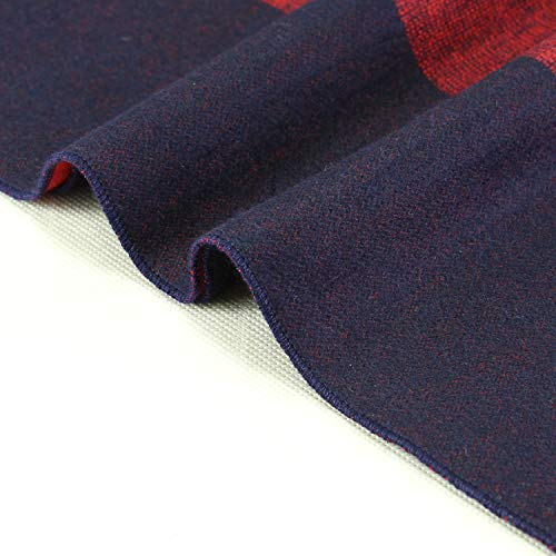 One Size Man marineblau Scarf Acvip rot Stil A U6cCw
