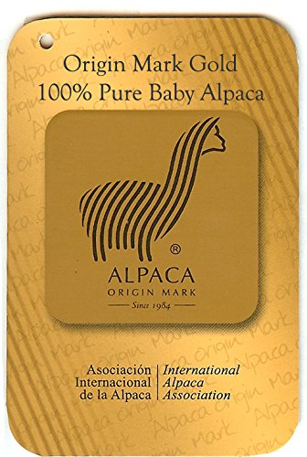 100% Pure Baby Alpaca Scarf - Bright Happy Solid & Natural Dye Free Colors (Dark Chocolate) by Incredible Natural Creations from Alpaca - INCA Brands (Image #1)