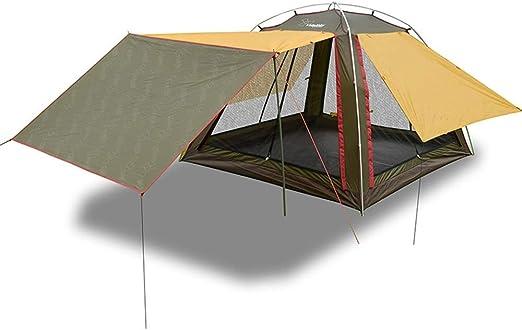 AN-JING Campamento Exterior Carpa Sala de Estar Cuenta Toldo Pérgola 4 Personas Familia Playa Canopy Aleación de Aluminio Duradero: Amazon.es: Hogar