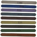 8000 grit paper - Micro-Mesh MICRO - 4N0000V Colored Sanding Sticks