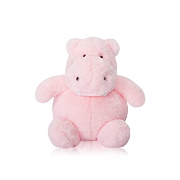 Amazon Com Tollion Cuddly Hippo Stuffed Animal Plush Toy