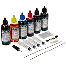 BCH® Standard 600 ml Refill Ink Kit for all printers: HP Canon Epson Lexmark Brother Dell & More