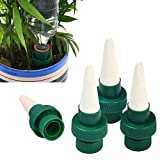 Fullsexy Vacation Plant Waterer, Self Plant Watering Stakes, Ceramic Self Watering Spikes, Automatic Flower and Drip Irrigation Watering Stakes System for Indoor&Outdoor Use, 4 Pack