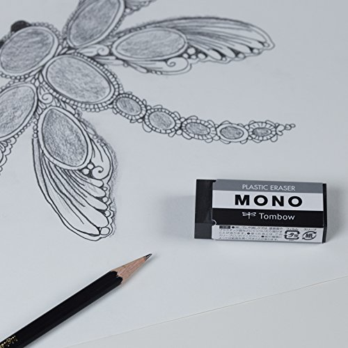 Tombow 57330 MONO Black Eraser, Medium, 3-Pack. Cleanly Removes Marks Without Damaging Paper by Tombow (Image #4)
