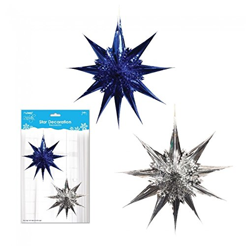 Holiday Essentials 3D Star Decoration with Die Cut Design by
