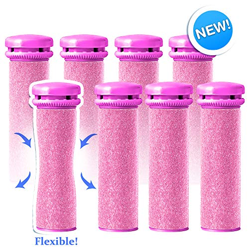- Emjoi Micro-Pedi Refill Rollers (Xtreme Coarse) - Pack of 8