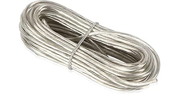 NVX XW1820CL 20 ft. Clear 18 Gauge Remote Lead Wire 6.1 Meters