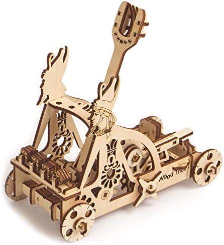 [해외]Mini Catapult Kit for Kids Egyptian Catapult Model Kit - Build Your Own Wooden Mini Catapult - 3D Wooden Puzzle Assembly Toys ECO Wooden Toys Best DIY Toy - STEM Toys for Boys and Girls Desk Toys / Mini Catapult Kit for Kids, Egypt...