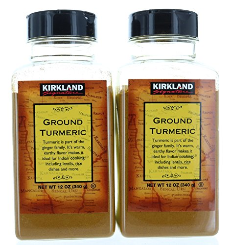 2 pack, Ground Turmeric Root Powder 12oz/340g each, by Kirkland Signature - Powder 340g