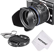 Neewer® Lens Hood Kit for SONY A6000/NEX Series Cameras and Samsung NX300 with 20-50mm Lens
