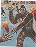 King Kong,West African - hand painted movie poster,40