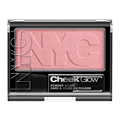 N.Y.C. New York Color Cheek Glow Blush, Prospect Park Rose, 0.28 (Cheek Colour Rose)