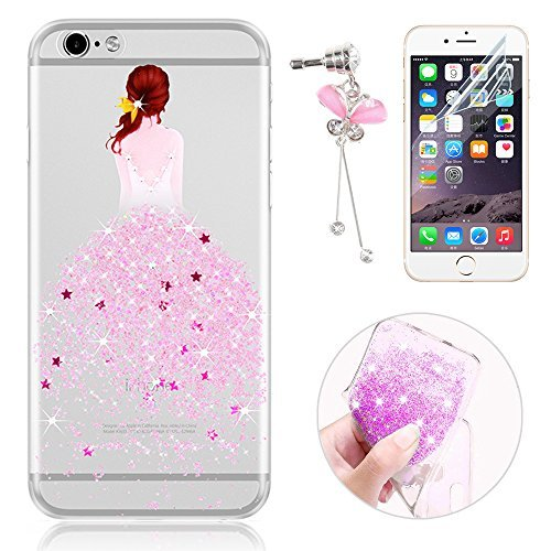 29 opinioni per Sunroyal® Custodia iPhone 6 Silicone, Case Cover per iPhone 6s in TPU Silicone,