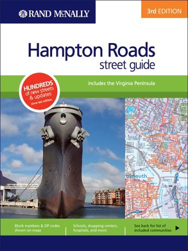 Rand McNally 3rd Edition Hampton Roads street guide includes the Virginia Peninsula by Rand McNally - Virginia Mall Hampton