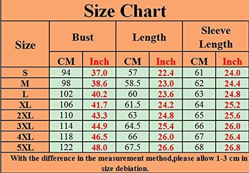 Imprime Shirt Size Casual T Pull Vrac Plus Longues Xinwcang Noir Femmes Shirt Chemise Bretelles Manches sans Top Blouse Lache zqHTxtSZw