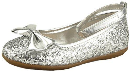 (The Doll Maker Metallic Glitter Strap Flat Shoes -)