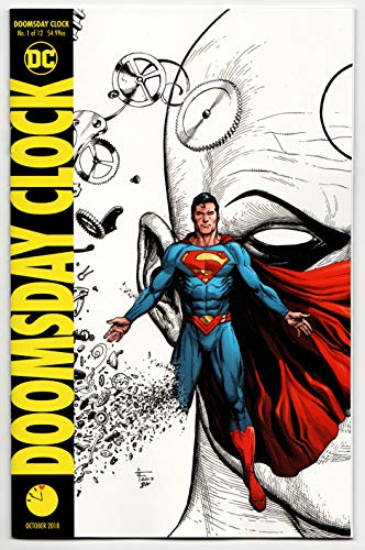 Doomsday Clock #1 4th Printing Variant (DC, 2018) NM