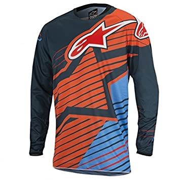 Camiseta Alpinestars Racer Braap niño naranja (L): Amazon.es: Coche y moto