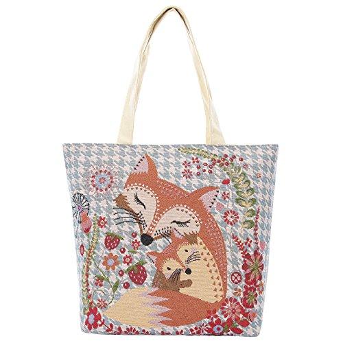 Aofit Einkaufstasche wiederverwendbar Wäschesack Handtasche Schultertasche Camping-Tasche, Textil, #183, Einheitsgröße #158