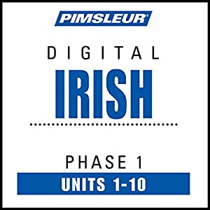 Irish Phase 1, Units 1-10 Speech