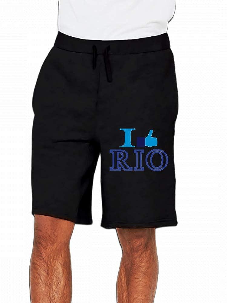 I Like Rio De Janeiro Mens Casual Short Trouser