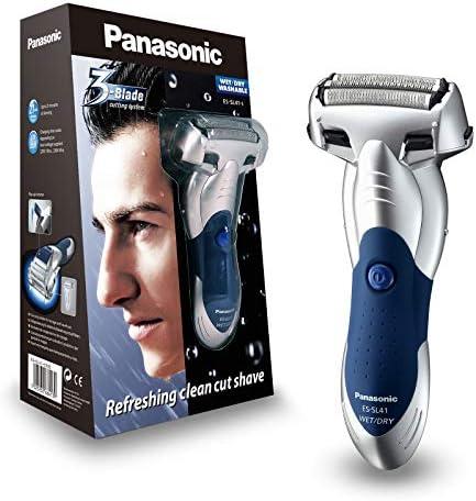 Panasonic ES-SL41-S503 - Afeitadora en seco y húmedo, 3 hojas, 3 ...