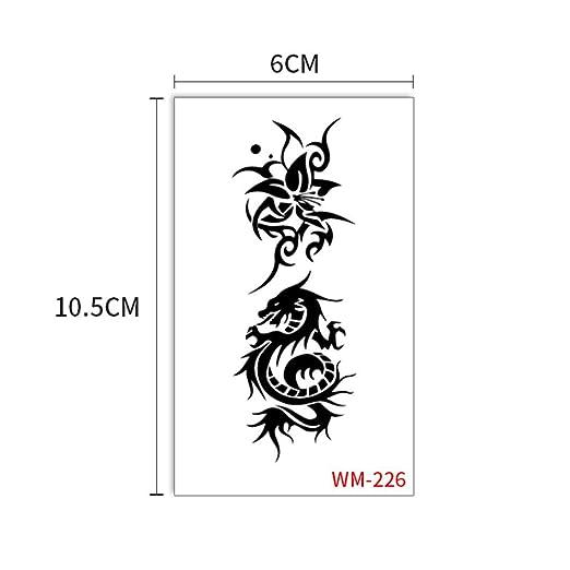 zgmtj Etiqueta engomada Fresca del Tatuaje 3D de Chinchilla WM226 ...