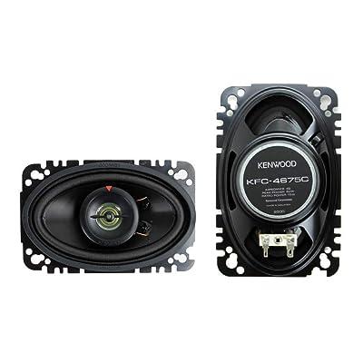 Kenwood KFC-4675C 60-Watt 4-Inch x 6-Inch Two-Way Speaker System: Car Electronics