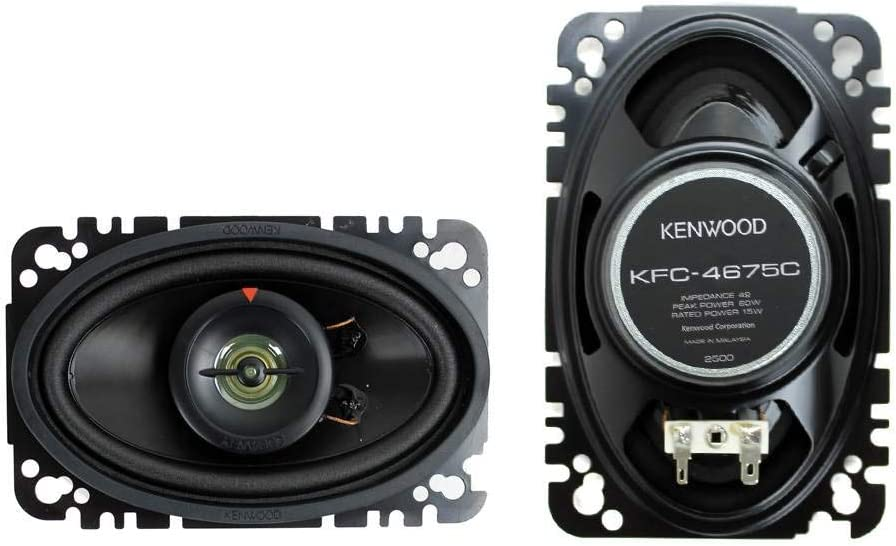 B00020C5QA Kenwood KFC-4675C 60-Watt 4-Inch x 6-Inch Two-Way Speaker System 51-OwTyrvKL