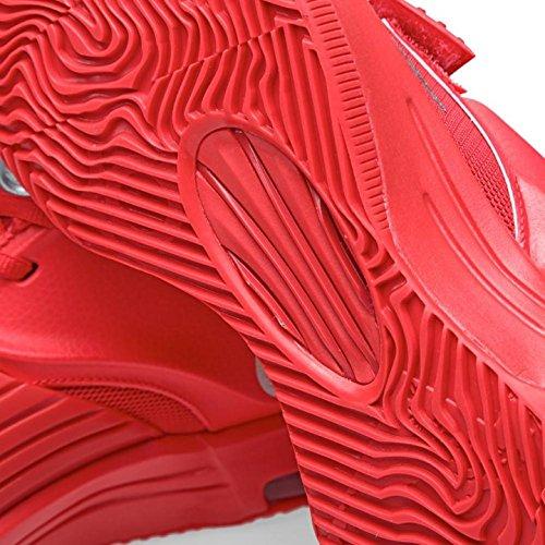 Nike Hommes Kd Vii Jeu Mondial Action Rouge / Argent Métallique Taille Synthétique 14