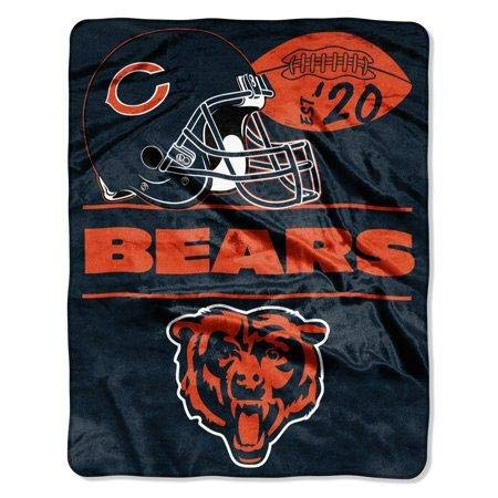 The Northwest Company NFL Chicago Bears Conference - Silk Touch Throw Blanket, 55