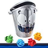 Joyibay Kids Throwing Paper Ball Stress Relief Ball Creative Moving Bin Game for Children