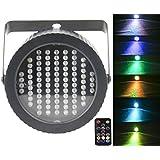 Stage Lights Par 86 LED,Latta Alvor DMX512 RGB Strobe Light Party Lights for Disco Bar Show Pub KTV Party DJ Lights with Sound Activated & Remote Control (multicolor) (RGB)