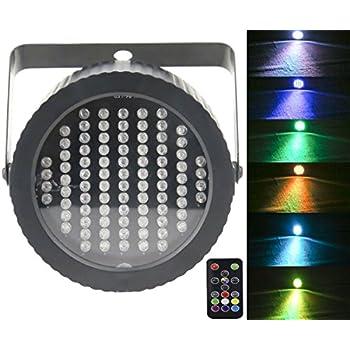 Amazon Com Wowtou Rgb Led Mini Disco Ball Party Light