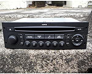 FidgetFidget RD45 - Radio USB para Coche para Peugeot 207 206 ...